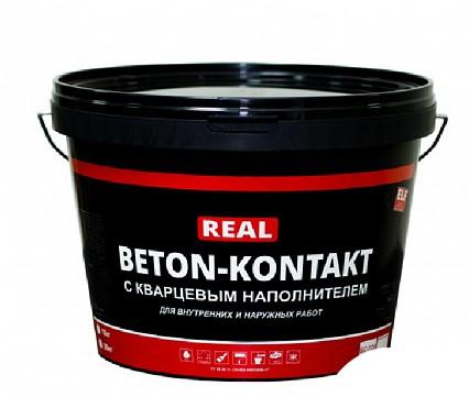 Бетоноконтакт с кварцевым наполнителем REAL 20 кг купить ...